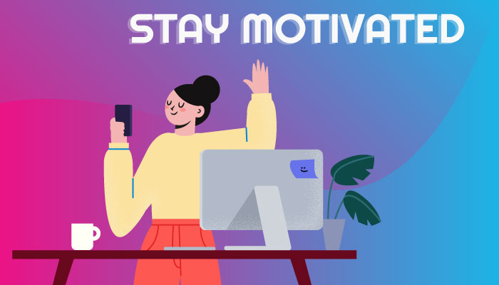 how to stay motivated as a virtual assistant