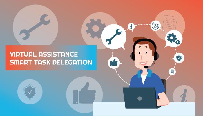 Smart tasks delegation for virtual assistants